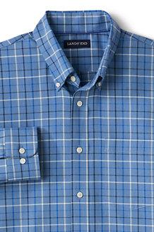 メンズ・ノーアイロン・ブレザーシャツ/ボタンダウン/長袖