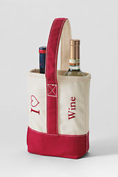 I Heart Double Wine Tote