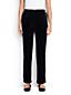 Women's Regular Stretch Knit Velvet Trousers