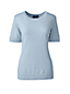 Women's Regular Short Sleeve Cashmere Jumper