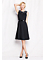 Women's Regular Embellished Collar Ponte jersey Dress