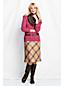 Women's Regular Textured Wool Skirt