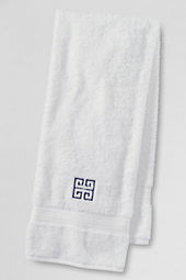 Supima Embroidered Greek Key Hand & Bath Towels