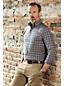 Men's Regular Traditional Fit Easy-iron Twill Shirt