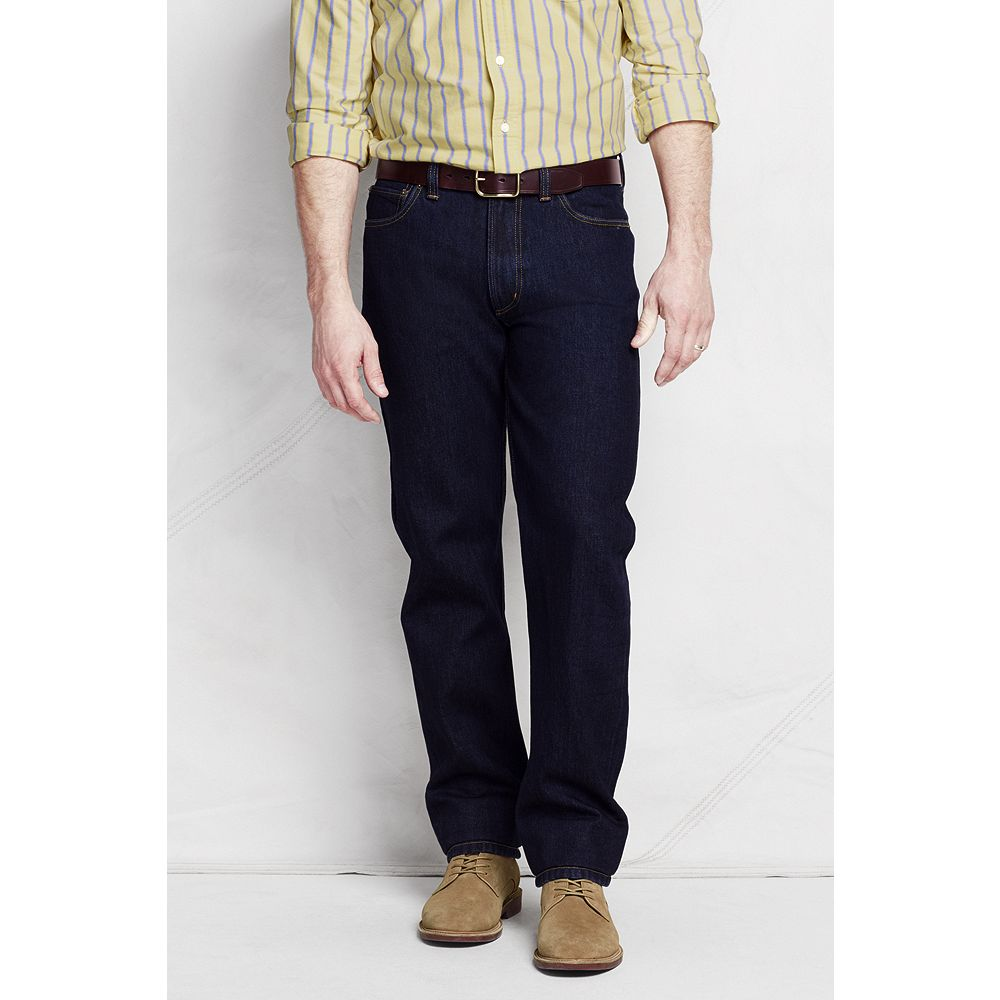 Lands' End Men's Traditional Fit Jeans at Sears.com