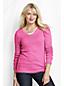 Women's Plus Lofty Cotton Blend V-neck Jumper