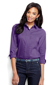 Women's Regular Pleat Front Stretch Shirt