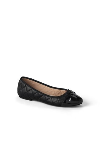 Women's Regular Brooklyn Cap Toe Ballet Shoes