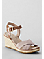 Women's Regular Taylor Cross-strap Wedge Sandals