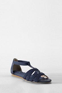 Les Sandales Mara Élastiques Plates Femme