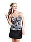 Women's Beach Living Paisley Mastectomy Tankini Top