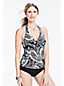 Women's Beach Living V-neck Tankini Top-Paisley Print
