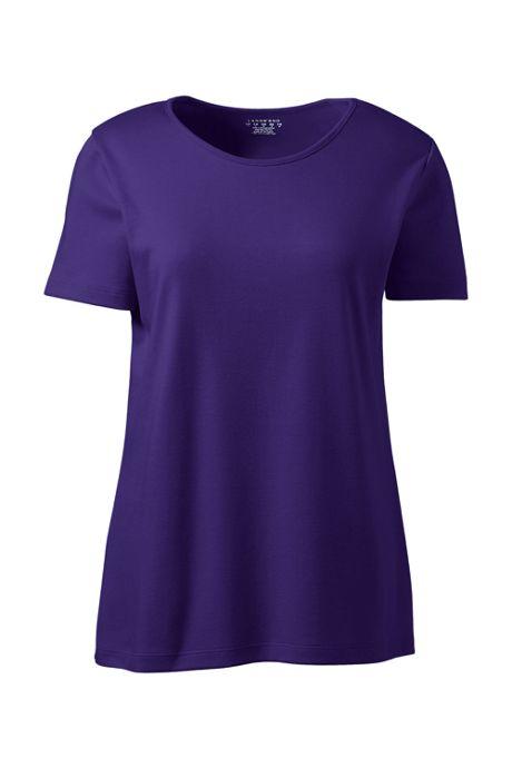 Women's Short Sleeve Jewelneck Tee