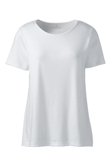 Women's Short Sleeve Jewelneck Tee