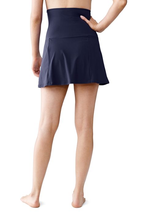 Women's Shaping Ultra High Waisted SwimMini Skirt with Tummy Control