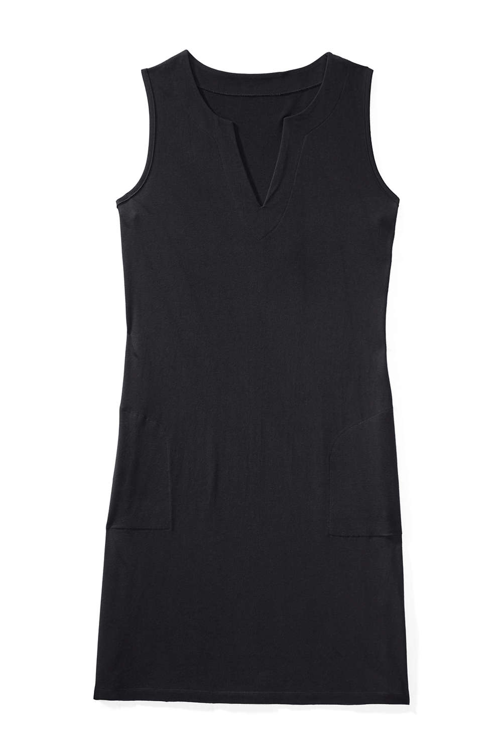 2c2ee27cb91a2 Women s Cotton Jersey Sleeveless Tunic Dress Swim Cover-up from ...