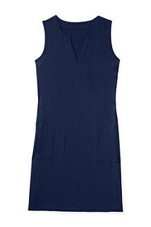 Women's Regular Sleeveless Tunic Cover-Up