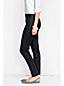 Knöchellange Stretchhose mit seitlichem Reißverschluss in Plusgröße
