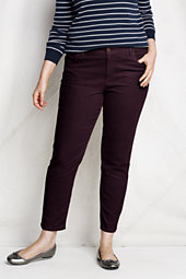 Women's Plus Size Fit 1 Corduroy Ankle Pants