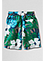 Little Boys' Patterned Swim Shorts