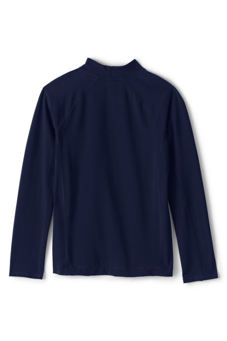 School Uniform Boys Long Sleeve Rash Guard
