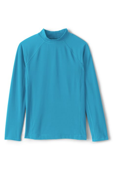 Boys Husky Long Sleeve Rash Guard