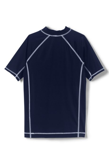 Boys Husky Short Sleeve Rash Guard