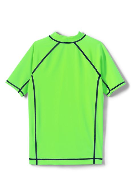 Toddler Boys Short Sleeve Rash Guard