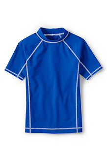Boys' Short Sleeve Rash Guard Top