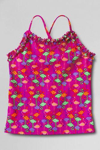SÜSSWASSER Tankini-Top mit Rüschen für kleine Mädchen