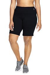 Plus Size Active Relaxed Short-Iron Heather