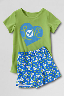 Girls' Shortie PJ Set