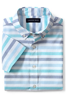 Boys' Short Sleeve Poplin Shirt