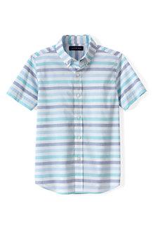 Boys' Short Sleeve Poplin Shirt