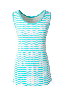 Women's  Patterned Cotton Vest Top