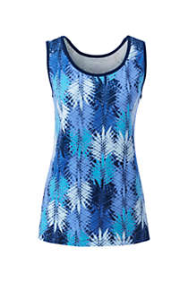 Women's Cotton Tank Top Print, Front