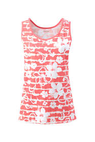 Women's Tall Cotton Tank Top Print