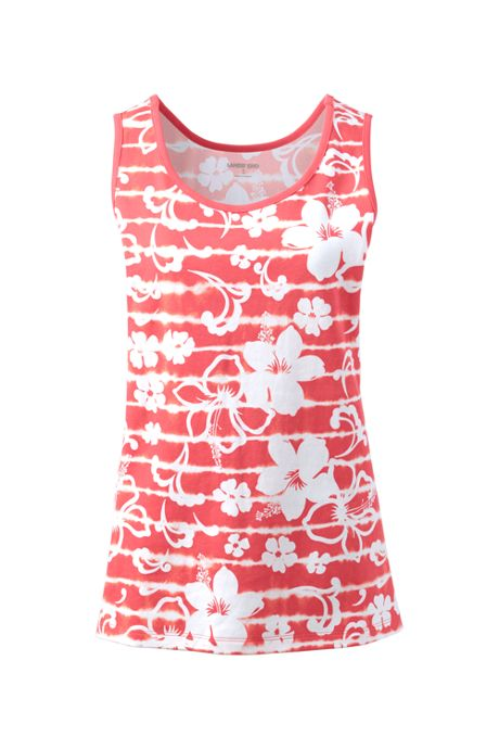 Women's Cotton Tank Top Print