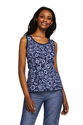 fef93fbd8ca58c Women s Cotton Tank Top from Lands  End