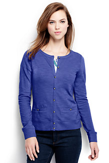 French Terry-Sweatcardigan für Damen