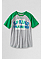Little Boys' Short Sleeve Raglan Graphic Tee