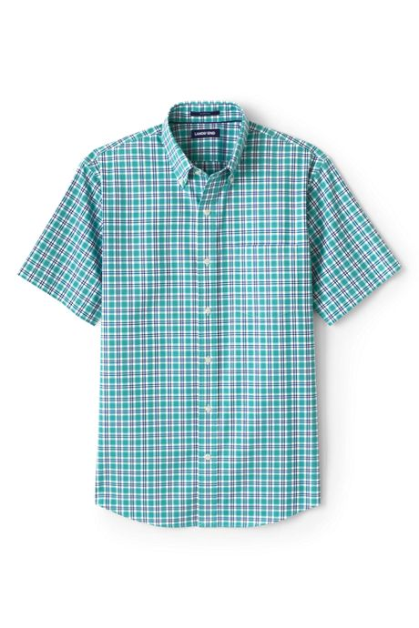 Men's Big & Tall Short Sleeve Traditional Fit No Iron Sportshirt