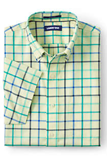 Men's Big & Tall Short Sleeve Traditional Fit No Iron Sportshirt, Front