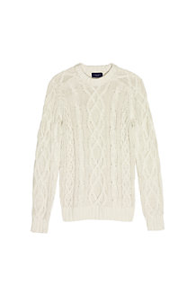 Men's Drifter™  Aran Cable Crew Neck Sweater