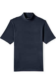 Men's Short Sleeve Super-T Mock Turtleneck