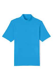 Men's Tall Super-T Short Sleeve Mock Turtleneck