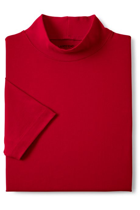 Men's Super-T Short Sleeve Mock Turtleneck