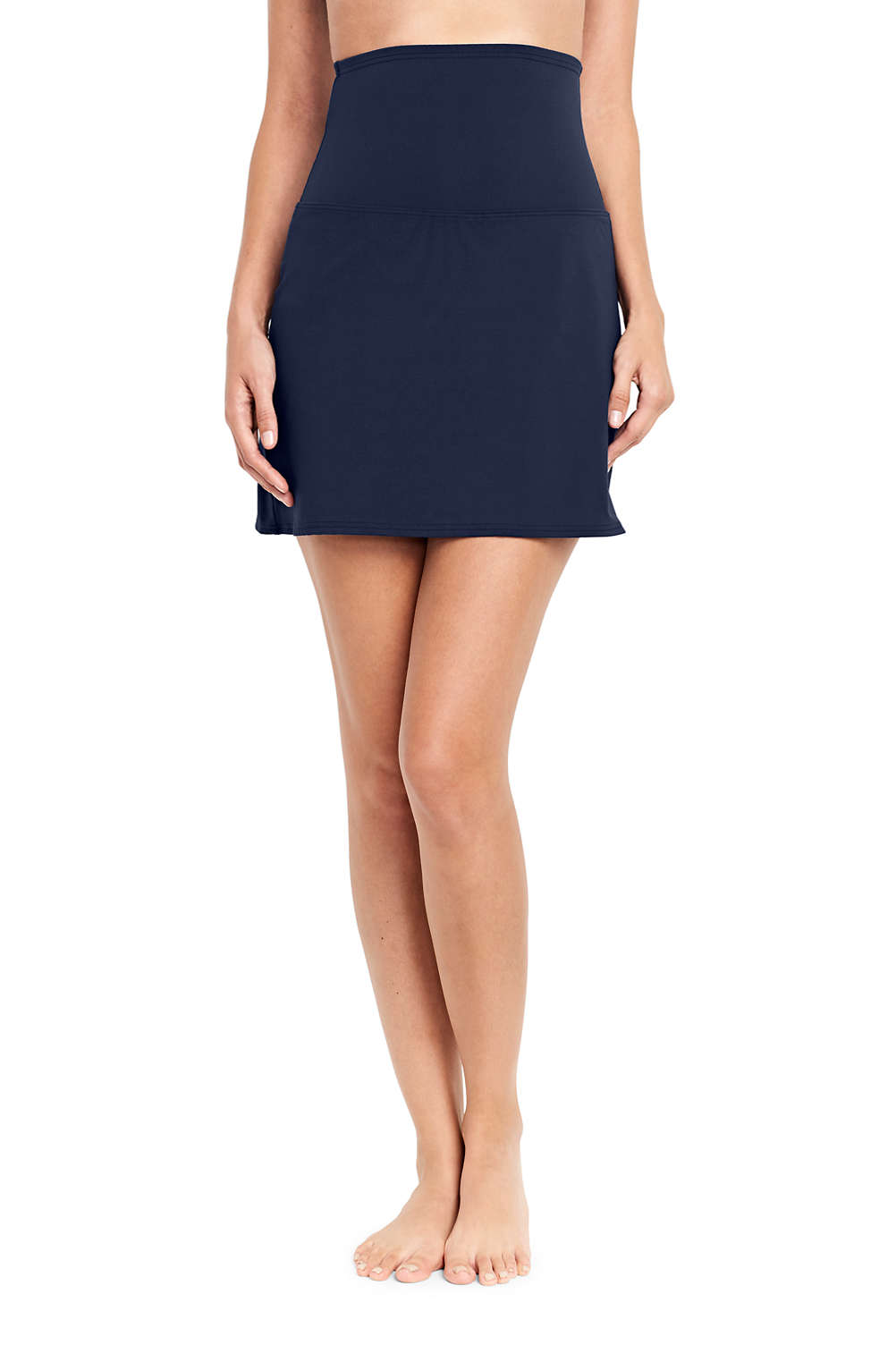 872654c808c Women's Ultra High Waisted Tummy Control Swim Skirt SwimMini from Lands' End