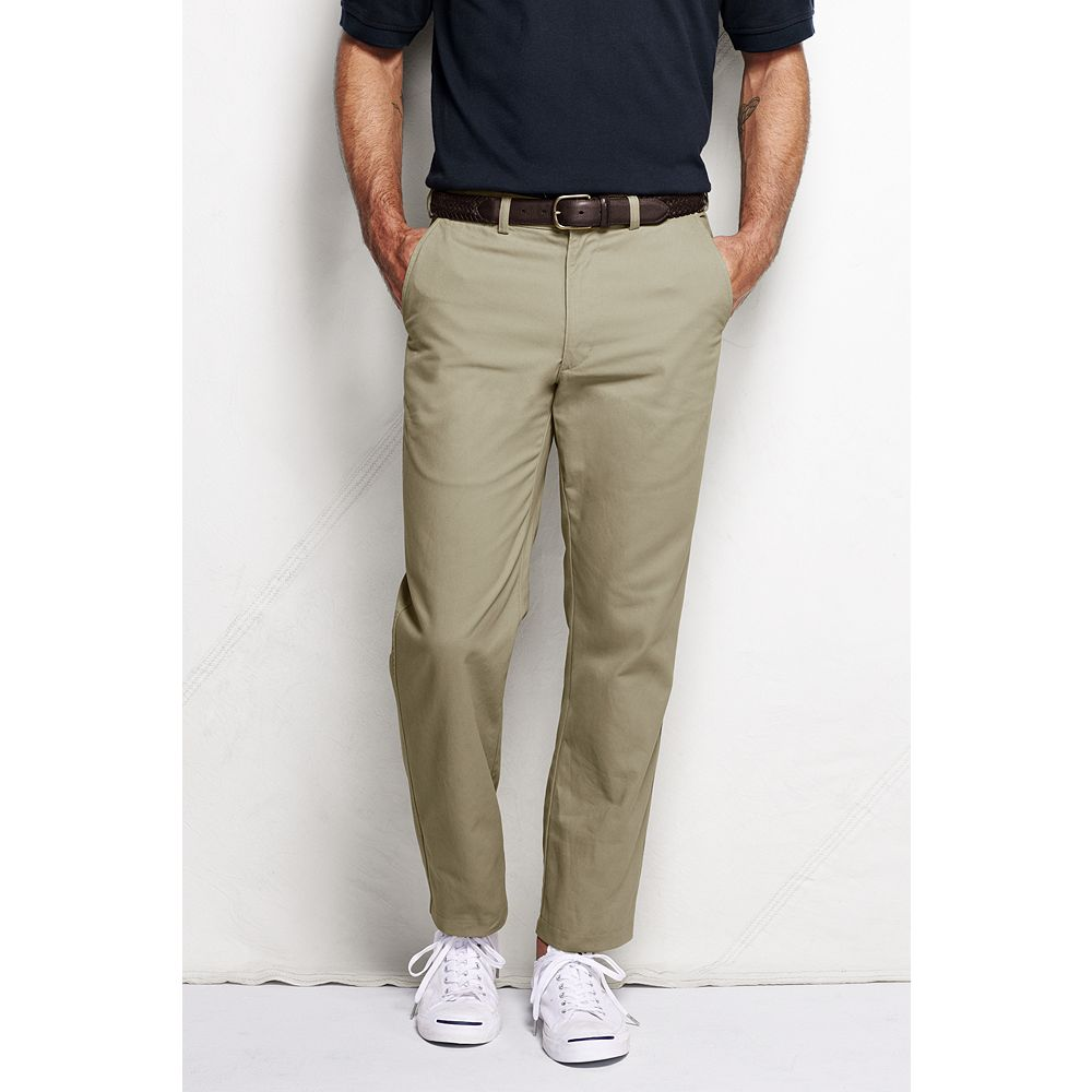 Lands' End Men's Lighthouse Traditional Fit Chino Pants at Sears.com