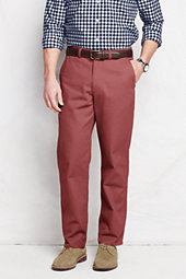 Men's Pre-hemmed Lighthouse Traditional Fit Chino Pants-Nautical Red